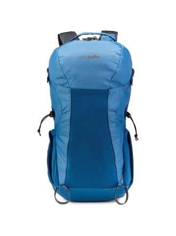 Pacsafe Venturesafe X34 Rucksack RFID 56 cm Laptopfach in blue steel