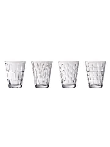 Villeroy & Boch Wasserglas Set 4tlg clear Dressed Up in klar
