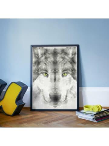 Dot on  art - wolf, 50 x 70 cm