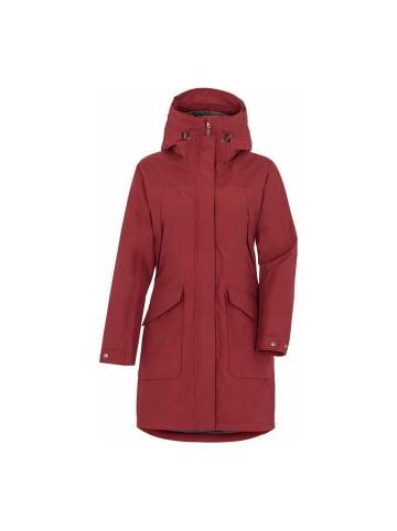 Didriksons Regenmantel Agnes 4 in velvet red