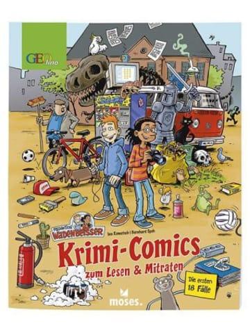 Moses. Redaktion Wadenbeißer - Krimi-Comics zum Lesen & Mitraten