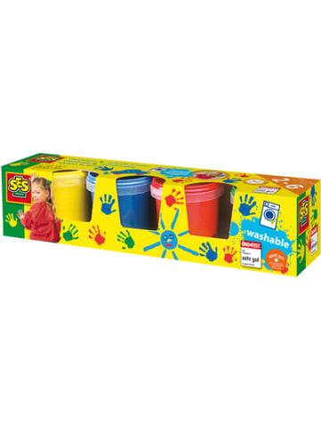 SES Fingerfarben Basic, 4 x 150 ml