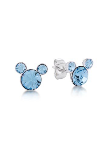 "Couture Kingdom Ohrstecker "" Disney Micky Maus März "" in Aquamarin"
