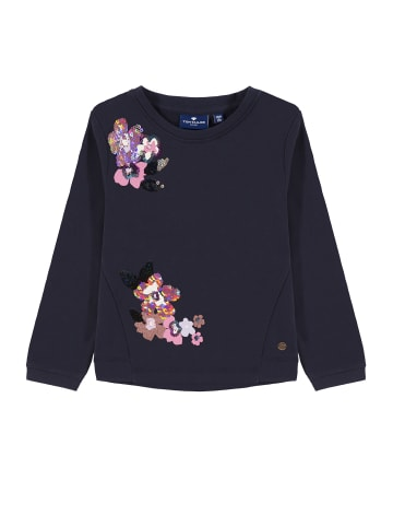 TOM TAILOR kids Sweatshirt mit Wendepailletten in night sky