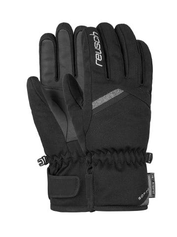 Reusch Fingerhandschuhe Coral R-TEX® XT in black/black melange