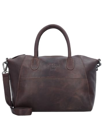 The Chesterfield Brand Wax Pull Up Clara Schultertasche Leder 31 cm in brown
