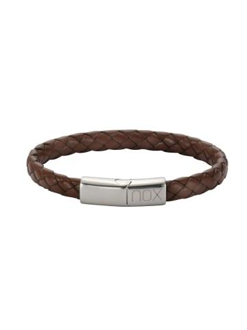 NOX Armbänder Edelstahl in hellbraun