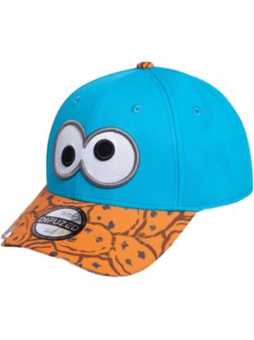 Difuzed Sesamstrasse Baseball Cap Cookie Monster Bite