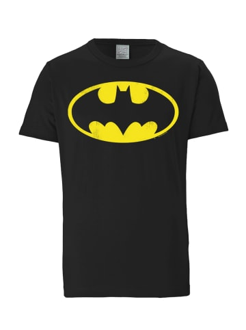 Logoshirt T-Shirt Batman - Logo in schwarz