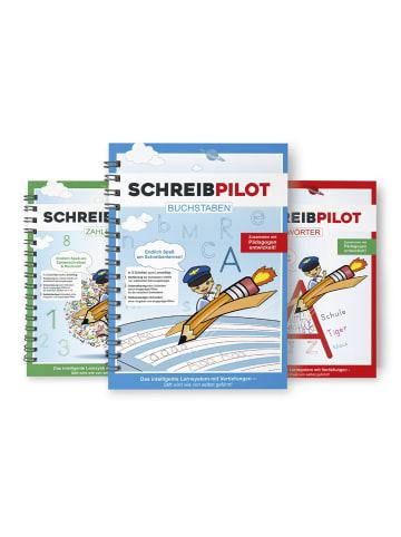 Schreibpilot 3tlg. Set: Heft Buchstaben, Zahlen & Wörter