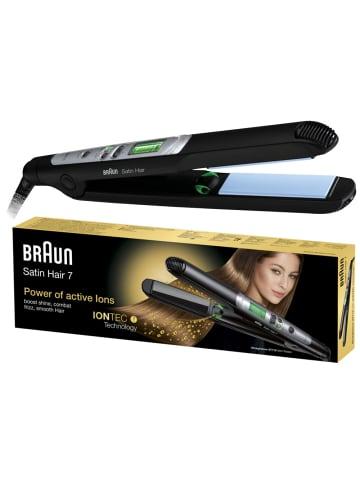 """Braun Haarglätter """"Satin Hair 7 Straightener ST710 (ES2)"""" in Schwarz"""