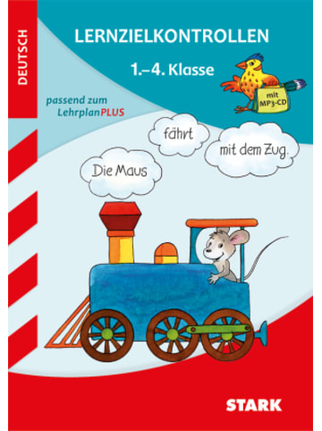 Stark Lernzielkontrollen Deutsch 1.-4. Klasse, m. Audio-CD, MP3