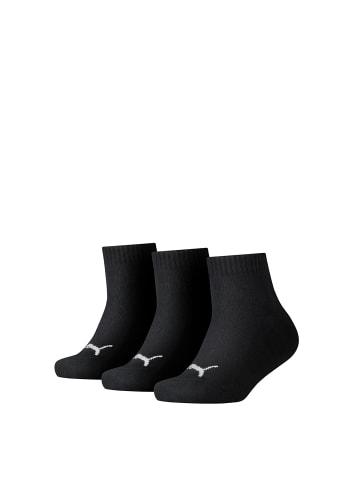 Puma Socken 3er Pack in Schwarz