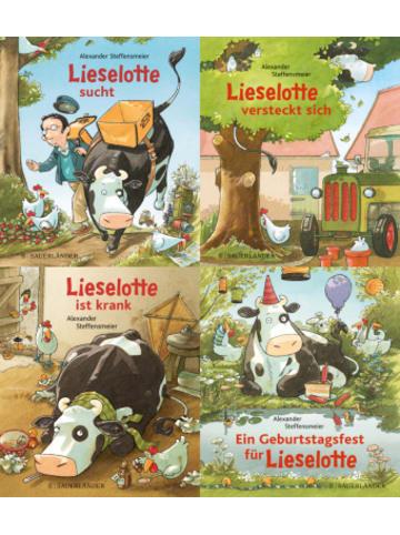 FISCHER Sauerländer Lieselotte Minis, 4 Bde.