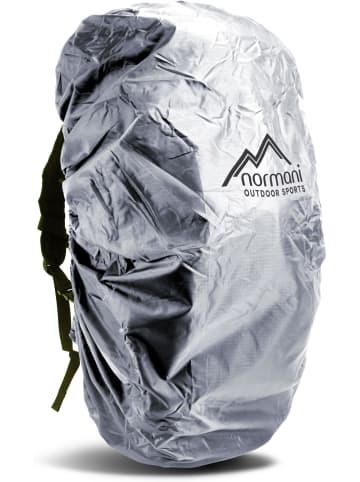 Normani Rucksack-Regenüberzug für 40-50 Liter Tapetum Lucidum in Silber