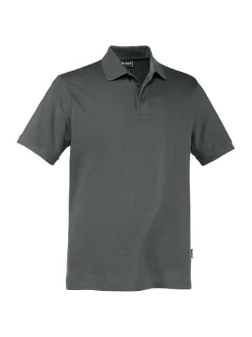 Expand Herren Arbeits Poloshirt in anthrazit