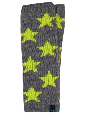 Homebase Armstulpen in Grau Neongelb