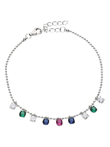 Smart Jewel Armband Mit Zirkonia in Silber