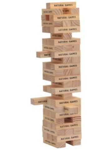 Natural Games Wackelturm mit 60 Spielsteinen