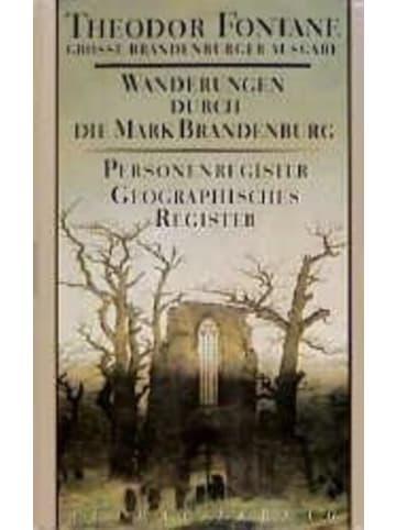 Aufbau Wanderungen durch die Mark Brandenburg 8   Personenregister. Geographisches...