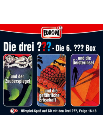 Sony CD Die drei ???: Box (16-18)