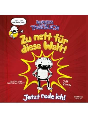 Bastei Lübbe Verlag Ruperts Tagebuch - Zu nett für diese Welt!, 2 Audio-CDs