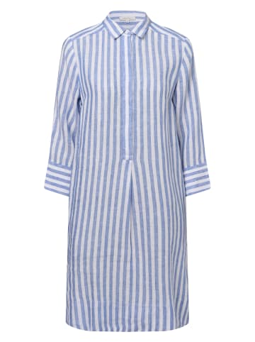 Apriori Kleid in blau weiß