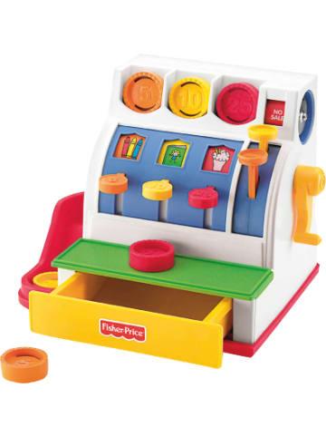 Mattel Fisher-Price Registrierkasse, Kaufladen Zubehör, Kinder-Kasse, Spielkasse
