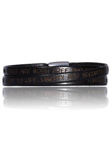 Gilardy Armbänder Edelstahl in schwarz