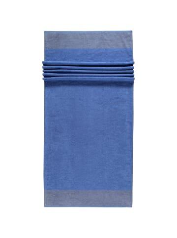 Cawö Handtücher Luxury Home Two-Tone 590 in blau - 17
