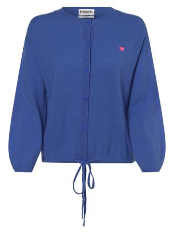 Essentiel Antwerp Strickjacke in blau