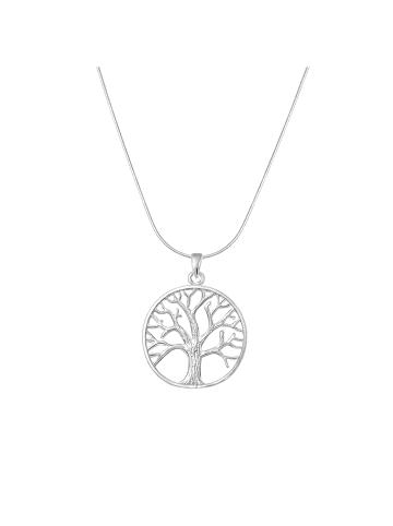 Alexander York Halskette mit Anhänger TREE OF LIFE in 925 Sterling Silber, 2-tlg.