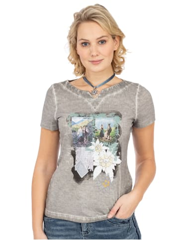 Trachten Stoiber T-Shirt 321113 grau