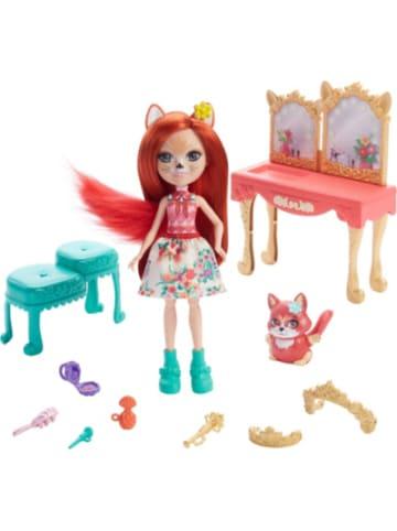 Mattel Royal Enchantimals Frisiertisch Spielset mit Fabrina Fox