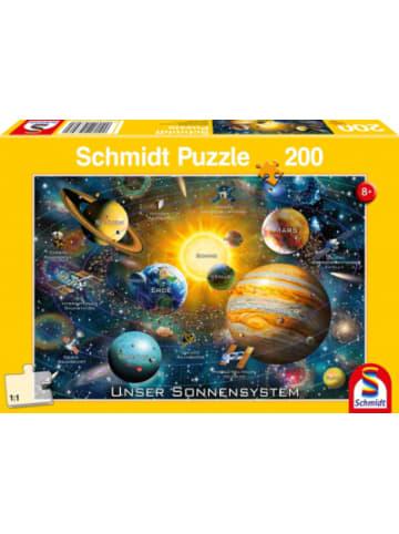 Schmidt Spiele Puzzle 200 Teile Solarsystem