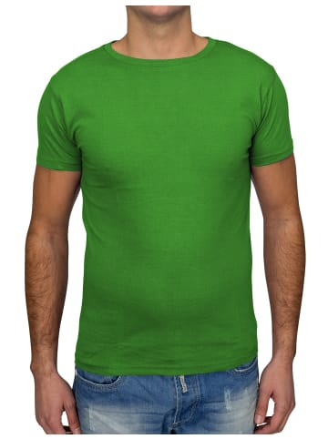 Arizona-Shopping T Shirt O-Neck V-Neck H1530 in Grün