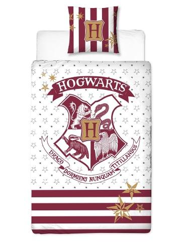 "Harry Potter Kinder Bettwäsche-Set ""Harry Potter"" in Bordeauxrot / Weiß"