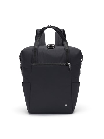 Pacsafe Citysafe CX Rucksack RFID 42 cm Laptopfach in econyl® black