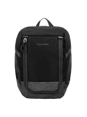 Travelite Basics Rucksack 36 cm in schwarz grau