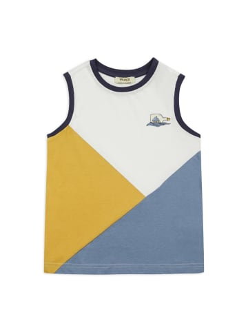 Panco Unterhemd - mit Aufdruck - für Jungen in Weiß