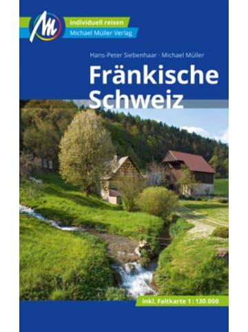 Michael Müller Verlag Fränkische Schweiz Reiseführer Michael Müller Verlag, m. 1 Karte