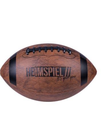 HEIMSPIEL American Football, Gr. 6, mit Pumpe