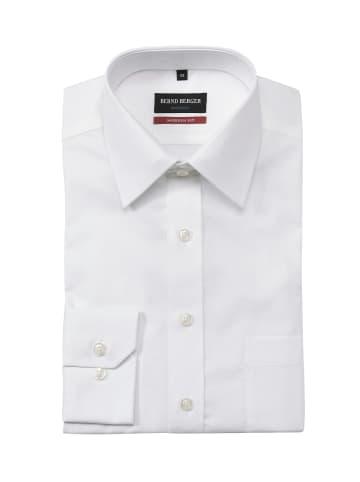 Bernd Berger Businesshemd in weiß