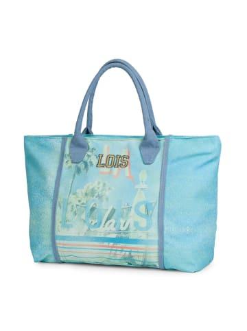 "Lois Strandtasche ""Miami"" in Blau"