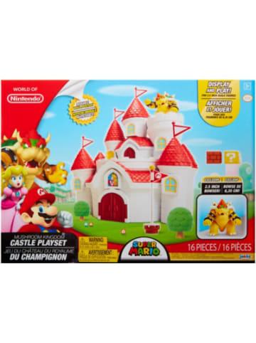 Jakks Pacific Nintendo Super Mario - Großes Spielset, inkl. Bowser Figur 6 cm, 10-tlg.