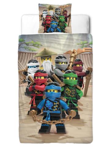 "Character World Jungen Bettwäsche-Set ""Lego Ninjago"" in Bunt"