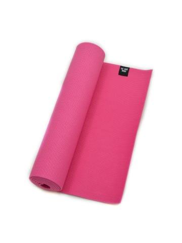 """Zenpower Yogamatte """" We Love Yoga 183x60x0,6 cm """" in pink"""
