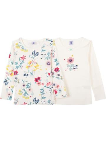PETIT BATEAU Unterhemden langärmlig Doppelpack