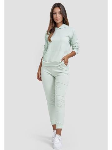 Holala Design Freizeit Anzug Zweiteiler Outfit in Mint
