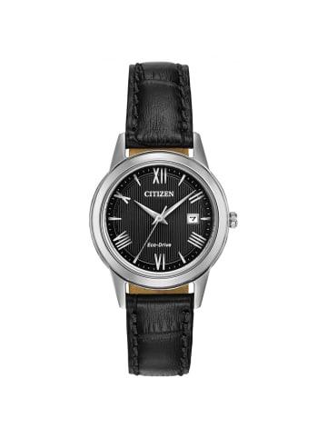 Citizen Analog Uhr 'FE1081' In Schwarz/Schwarz